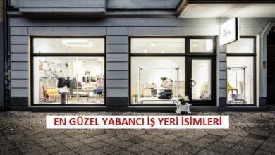 Yabancı Mağaza İsimleri ve Türkçe Anlamları