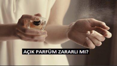 Açık Parfümler İnsan Sağlığına Zararlı mıdır?