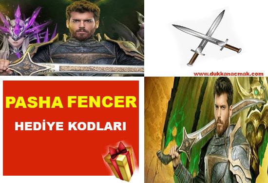 Pasha Fencer hediye kodu listesi