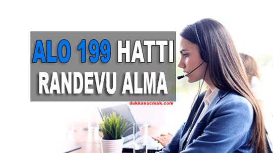 ALO 199 Randevu Alma