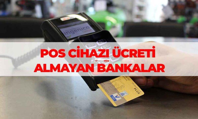 Bankaların POS Cihazı Komisyon Oranları