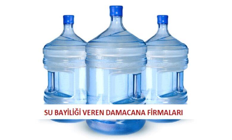 Su Bayiliği Veren Firmalar