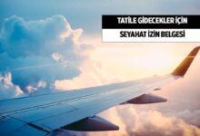 Turizm Amaçlı Seyahat İzin Belgesi E-Devlet